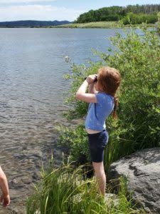 Looking Across Lake Owen