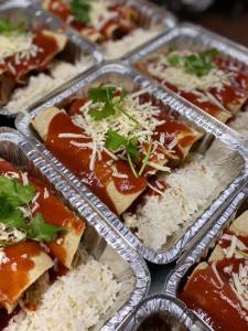 Chicken Enchiladas, The Homestead