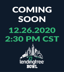 LendingTree Bowl Coming soon 2020