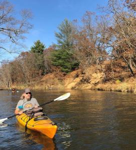 Kayaking on the Sugar River