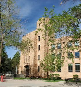 The University of Wyoming Campus