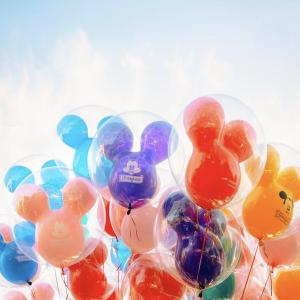 Balloons at Disneyland Park