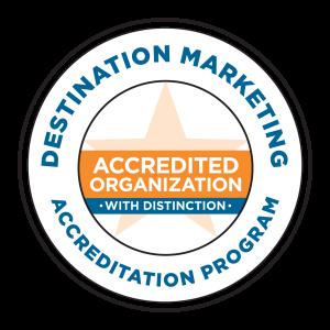 Destination Marketing Accreditation Program: Accredited Organization with Distinction