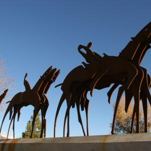 Parade Formation Sculpture