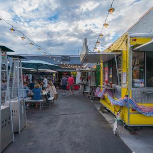 Food Trucks at 11th Street Station Durango, CO
