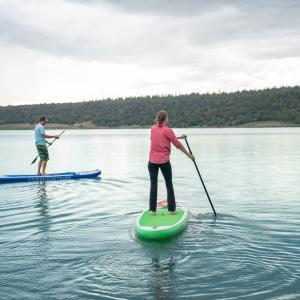 Paddleboarding SUPing Lake Nighthorse Durango CO