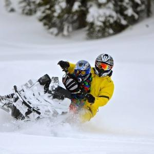 Snowmobiling in Durango