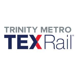 Trinity Metro TEXRail Logo