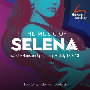 Houston Symphony -Selena Graphic