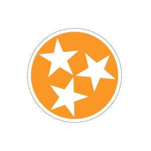 Orange Tri-Star