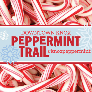 Downtown Knoxville Peppermint Trail graphic