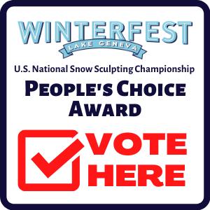 Winterfest Peoples Choice Award button