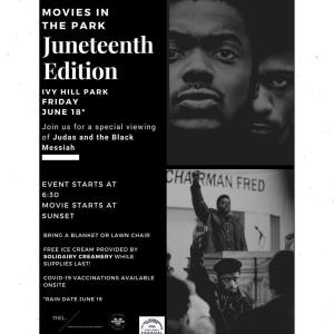 Movies in the Park Juneteenth Edition