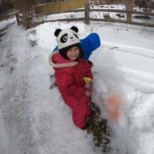 GCV&M Kid in Snow