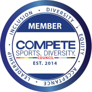 Member badge for Compete Sports Diversity Council