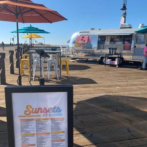 Pismo Beach Pier Airstreams