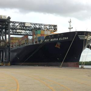 Port Everglades Welcomes Largest Container Ship in Port's
