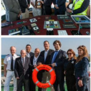 Port Everglades Welcomes SC Line's Caroline Russ Ro-Ro Ship