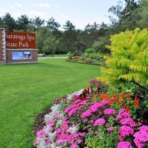 Saratoga Spa State Park Signage
