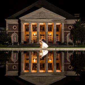 Hall of Springs Wedding at Night