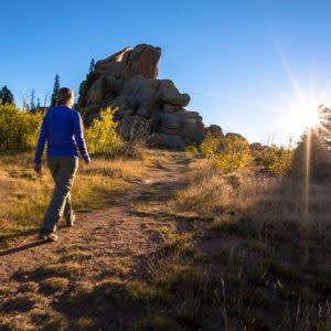 Hiking in Laramie, Wyoming