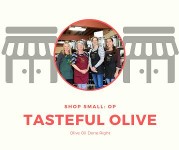 shop small the tasteful olive overland park