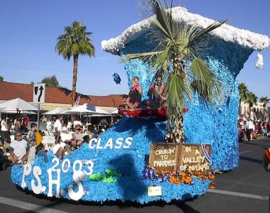 Rockin Around The Christmas Tree Parade Float Ideas.Signature Events In Palm Springs Greater Palm Springs
