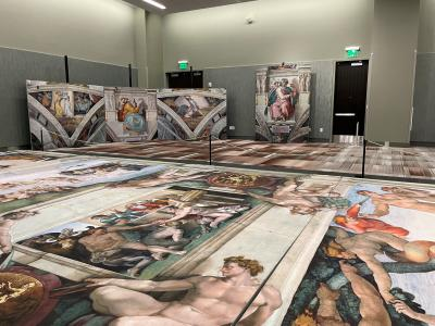 Michelangelo - A Different View at Albany Capital Center