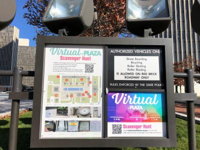 Virtual Scavenger Hunt at Empire State Plaza