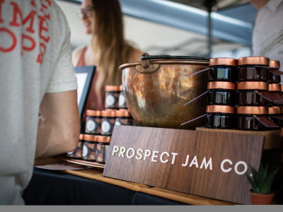 Prospect Jam Co. sign