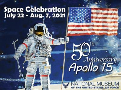 Celebrate the 50th Anniversary of the Apollo 15 at the National Museum of the U.S. Air Force