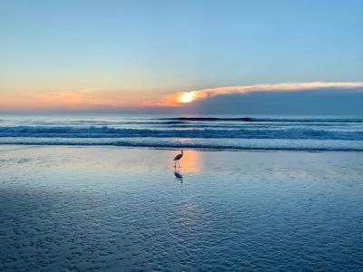 Sunrise in Daytona Beach