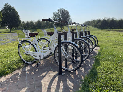 Take a bike for a tour at Rodale Institute