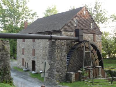 Rock Run Grist Mill Water Wheel at Susquehanna State Park