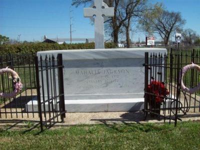 Mahalia Jackson's Gravesite