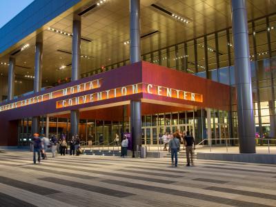 New Orleans Ernest N. Morial Convention Center Entrance