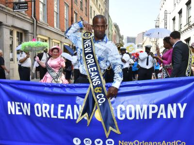 New Orleans & Company Brand Launch Parade 2018