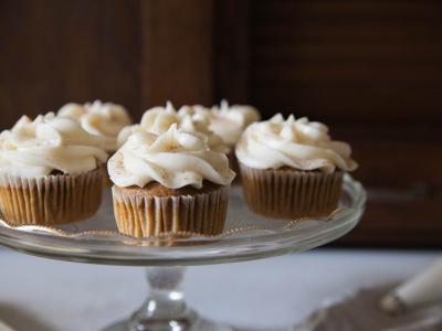 Sweet Potato Cupcakes from The Cupcake Collection
