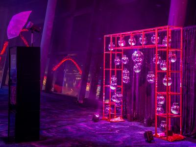 Phenomenon disco event at Optus Stadium for a corporate gala
