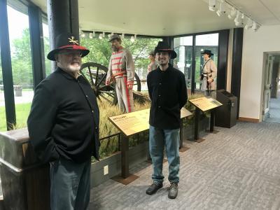 Reenactors at Wilson's Creek National Battlefield