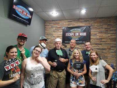 Winning Group at Escape on Main in St Charles