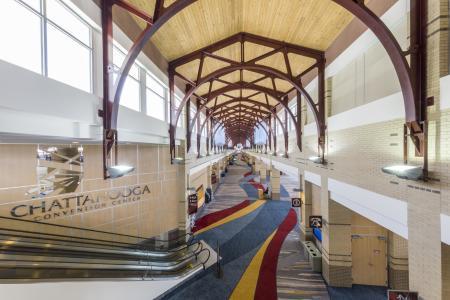 Chattanooga Convention Center_Photo Credit Matthew Mendenhall