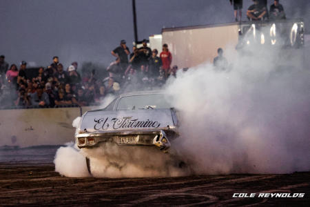 You can participate in the greatest burnout display anywhere.