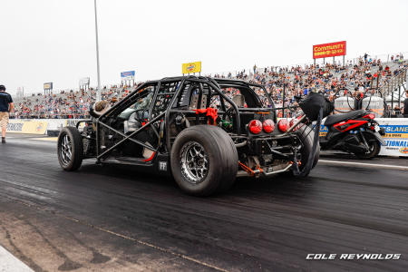 Cleetus & Cars will utilize the drag strip as well as other facilities within Lucas Oil Raceway making the track the perfect location for its first Midwestern event.