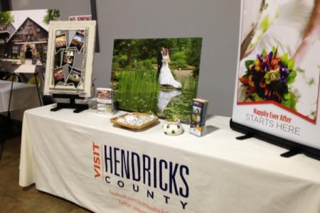 VHC booth at Bridal Show