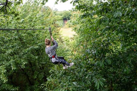 Go Ape Treetop Adventure at Eagle Creek Park (Photo courtesy of the Go Ape Facebook page)