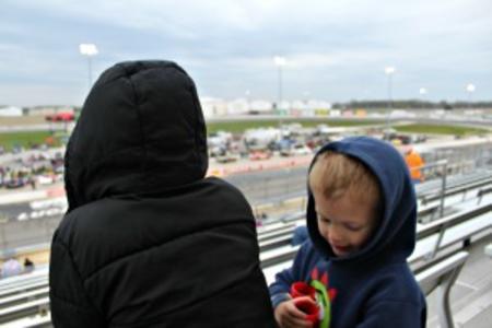 Kids at Lucas Oil Raceway