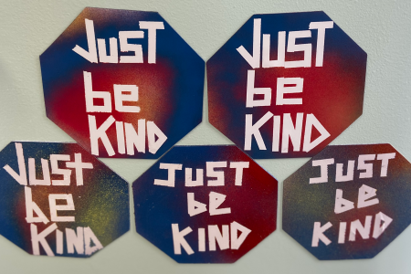 Just Be Kind Magnets