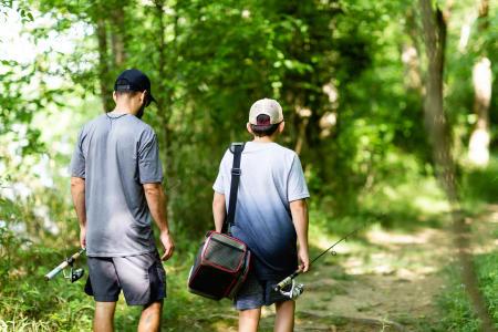 Fishing at Riverbend