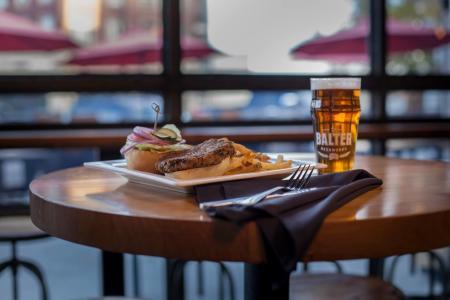 Balter Beerworks Veggie burger